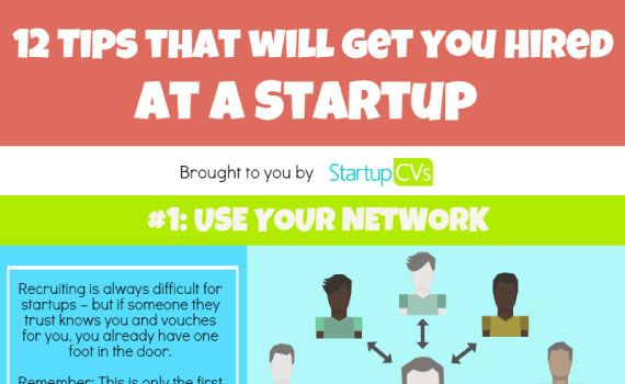 Thumbnail titled 'Tips to Get Hired at a Startup'