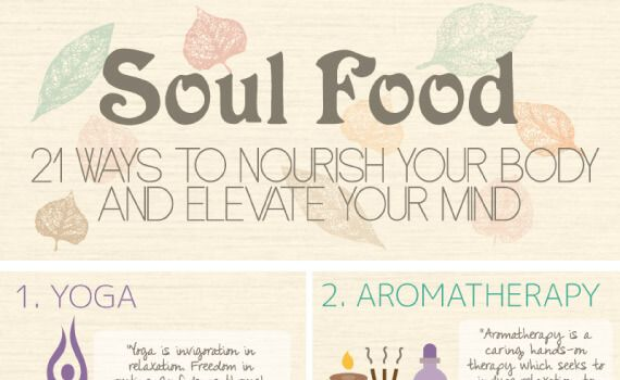 Thumbnail titled Soul Food – 21 Ways to Nourish Your Body and Elevate Your Mind