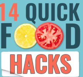 Thumbnail titled '14 Quick Food Hacks You Need to Know'