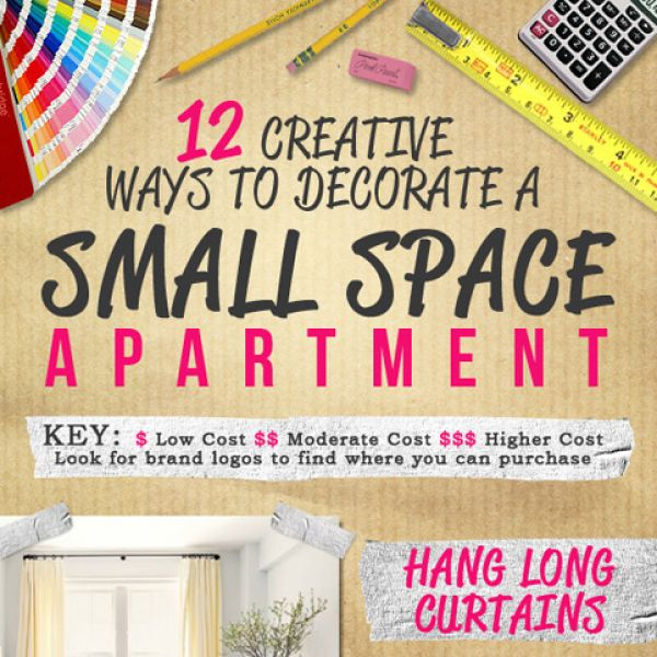 Small Space Apartment 12 Creative Ways To Decorate It