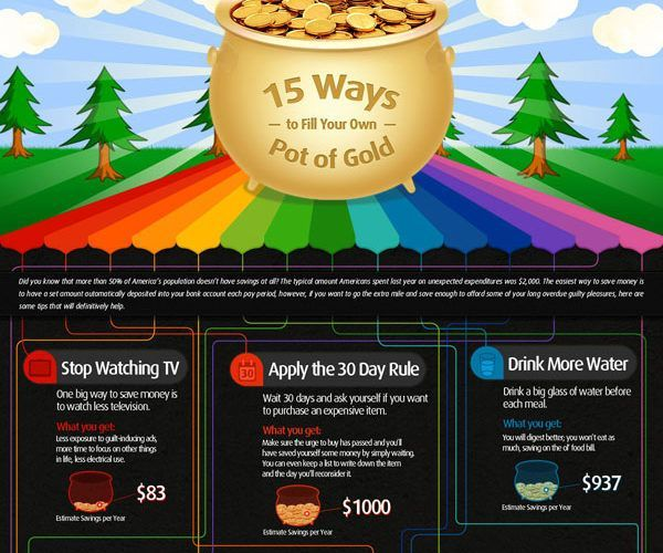 money tips 15 ways that will fill your own pot gold tips tipsographic