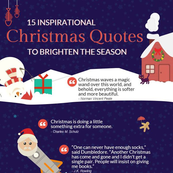 15 Inspirational Christmas Quotes To Brighten The Season