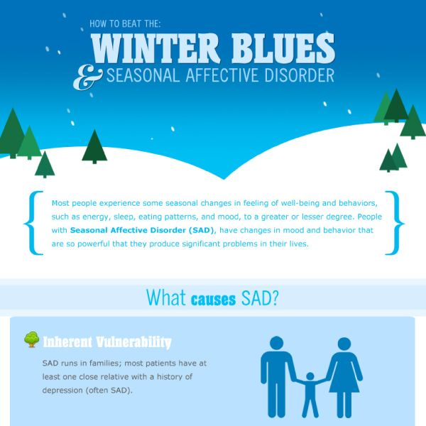 How To Beat Seasonal Affective Disorder And The Winter