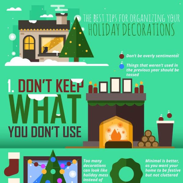 Organize Your Holiday Decorations Quick And Efficiently