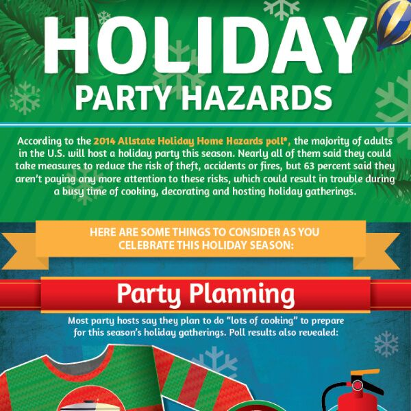 Tips To Have A Safe Holiday Party Tipsographic