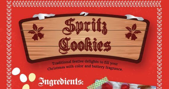 Thumbnail titled 'Tips to Bake Christmas Spritz Cookies'