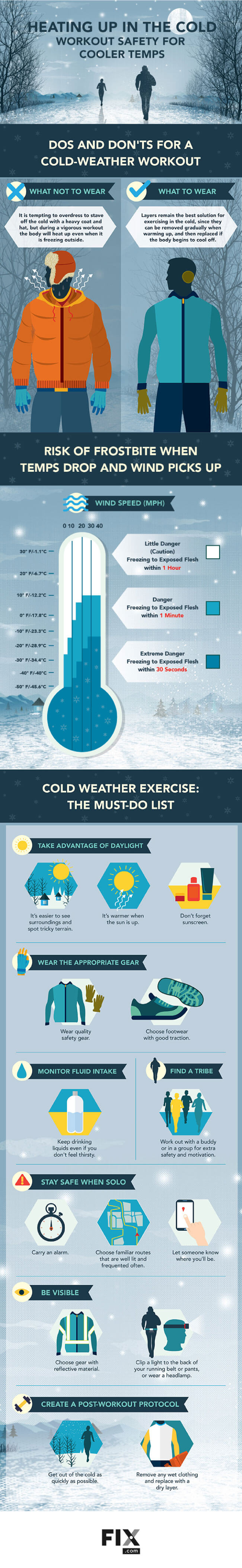 Tips to Exercise Outdoors in Cold Weather Tips Tipsographic