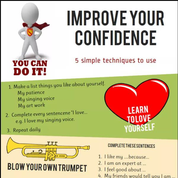 Tips To Improve Your Confidence With 5 Simple Techniques Tipsographic