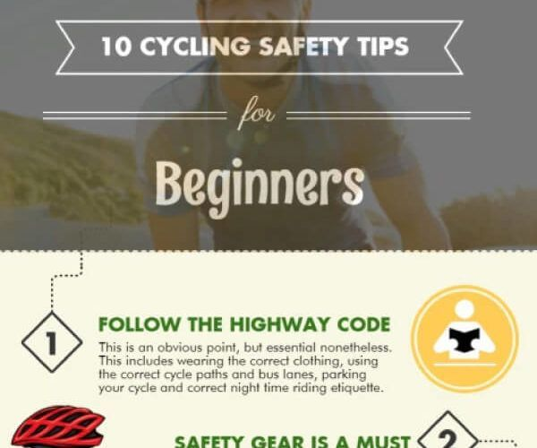 bike safety tips beginners tips tipsographic