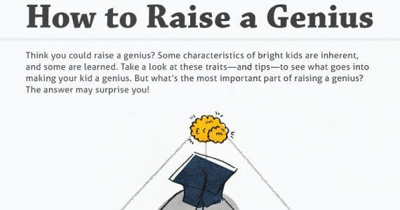Thumbnail titled 'Tips to Raise a Little Genius'