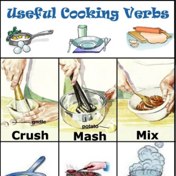How To Supercharge Your English Vocabulary With Cooking