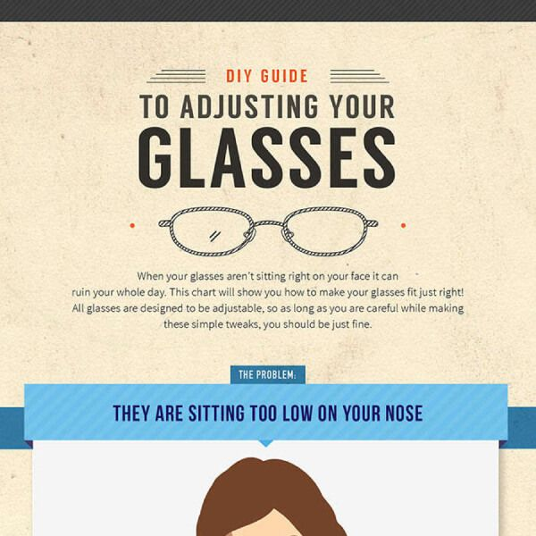 Tips to Adjust Your Glasses at Home | Tipsographic