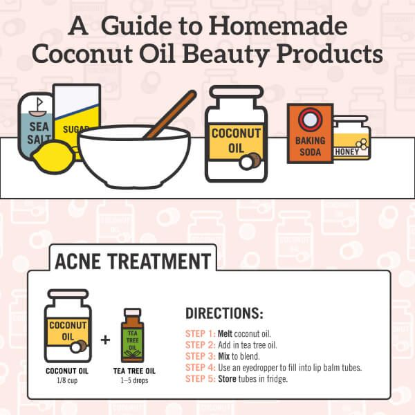 Tips To Make Diy Coconut Oil Acne Treatment And More