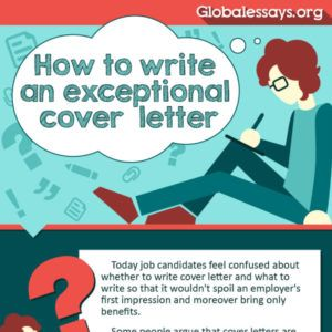 Tips to Write an Exceptional Cover Letter tipsographic