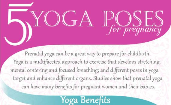 Thumbnail titled 'Tips to Practice 5 Yoga Poses for Pregnancy'