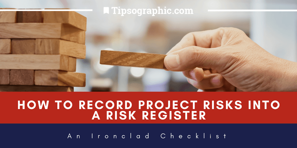 Image titled How to Record Project Risks into a Risk Register: An Ironclad Checklist