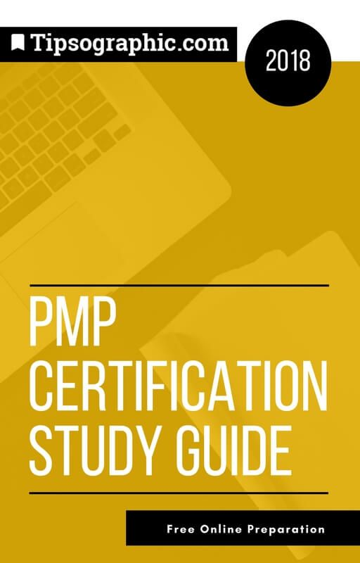 pmp certification 2018 study guide free online preparation tipsographic