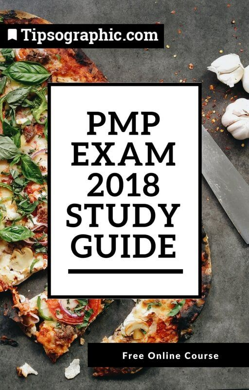 pmp exam 2018 study guide free online course tipsographic