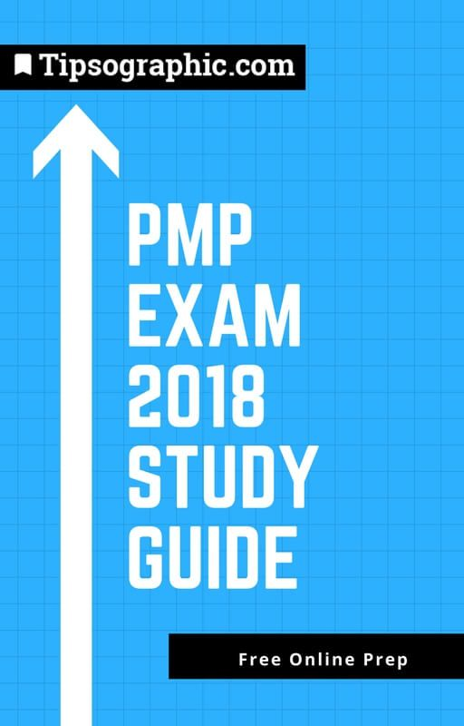 pmp exam 2018 study guide free online prep tipsographic