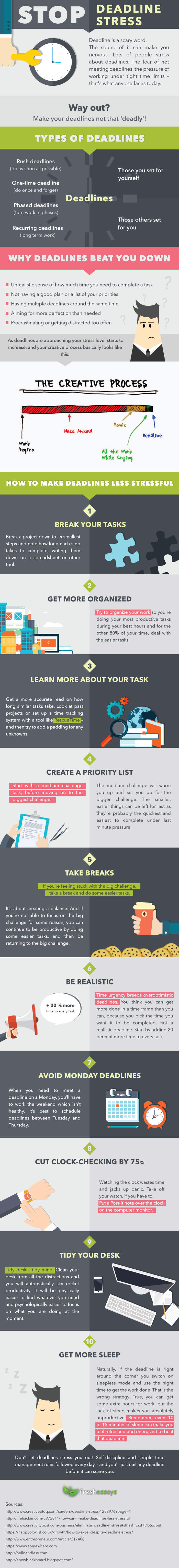 Image titled Tips to Avoid Deadline Stress in 10 Easy Ways