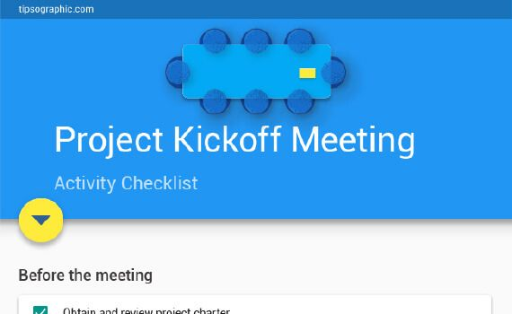 Thumbnail titled How to Plan Your Project Kickoff Meeting – an Easy Checklist