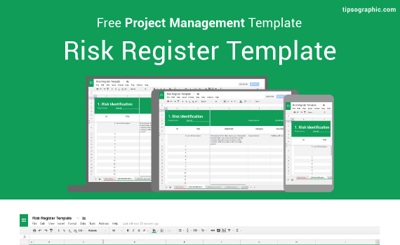 Risk Register Template For Excel Google Sheets And Libreoffice