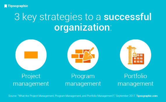 Strategies for organization's success in project management