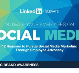 Thumbnail titled 12 reasons to activate your employees on social media