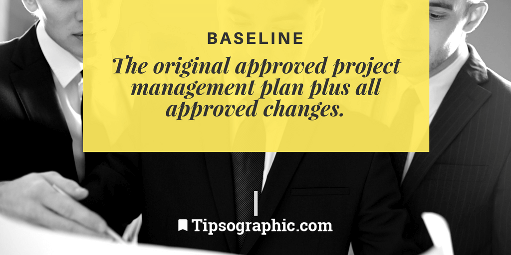 Image titled baseline project management terms