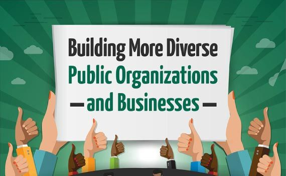 Thumbnail titled building more diverse public organizations and businesses