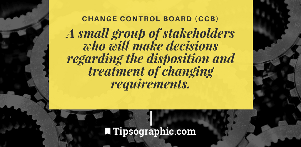 Image titled change control board project management terms