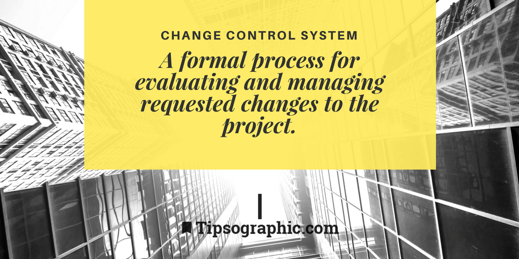 Image titled change control system project management terms