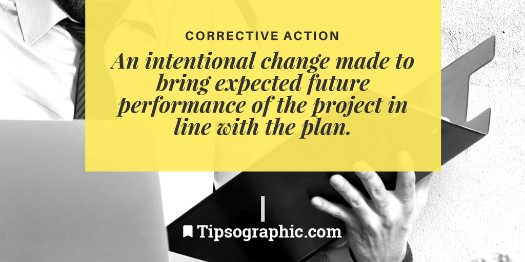 Image titled corrective action project management terms