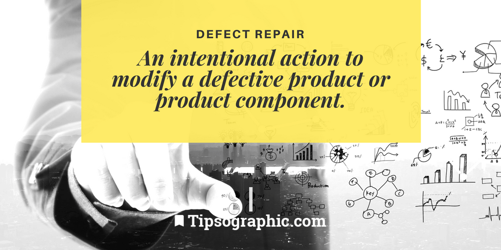 Image titled Defect Repair project management terms