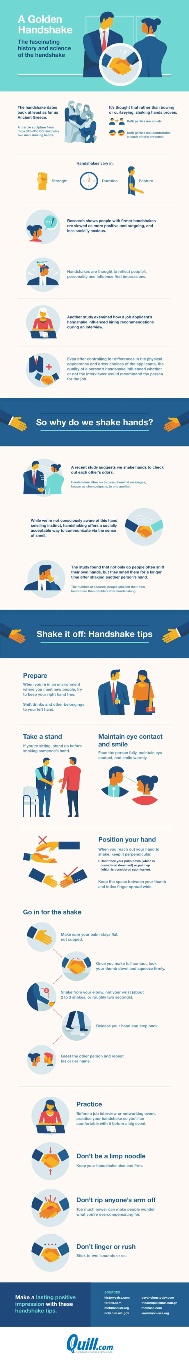Image titled how to handshake for a lasting positive impression
