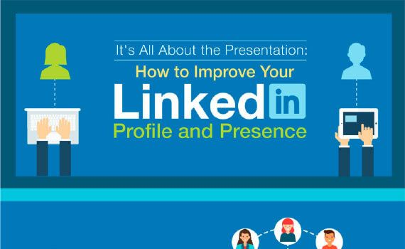 Thumbnail titled how to improve your linkedin profile and presence