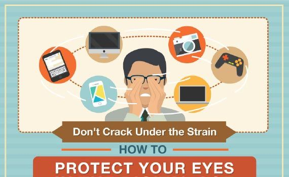 Thumbnail titled how to protect your eyes in the digital age