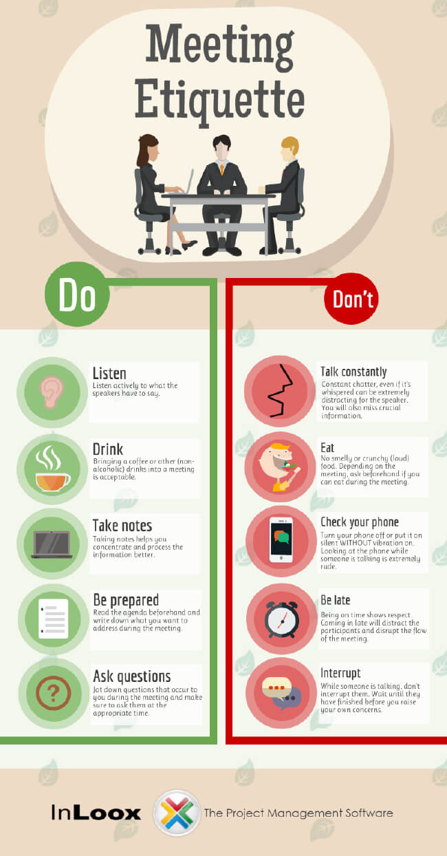 Image titled meeting etiquette rules to live by