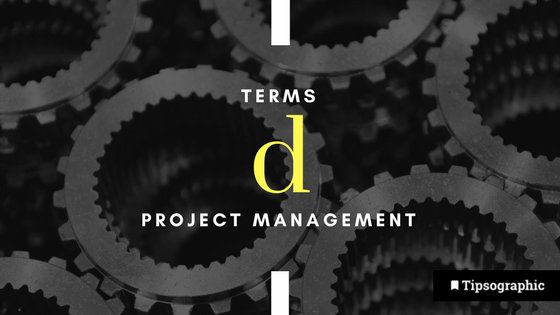 Image titled project management terms d