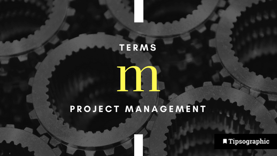 Image titled project management terms m