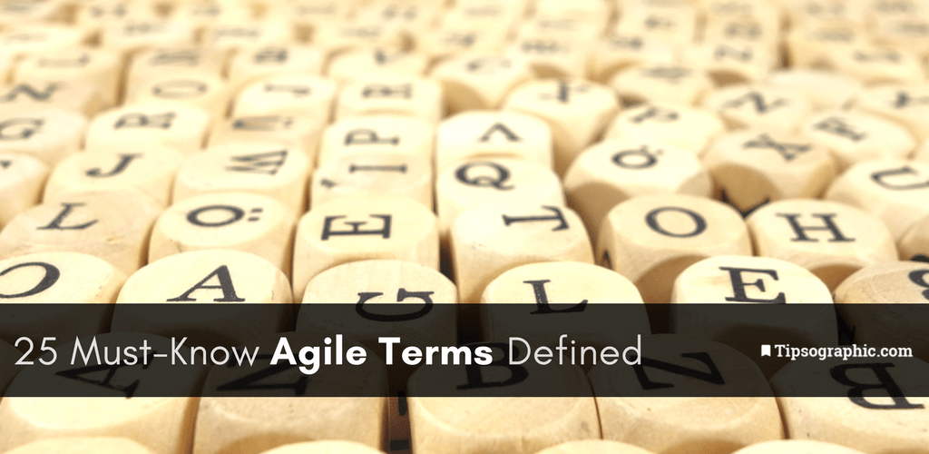 Thumbnail titled 25 must-know agile terms defined