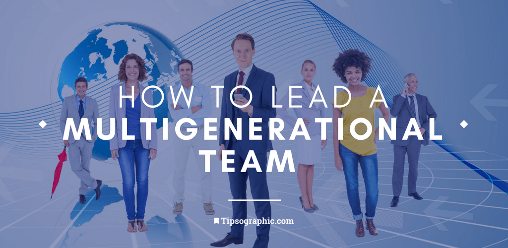 Thumbnail titled how to lead a multigenerational team management online