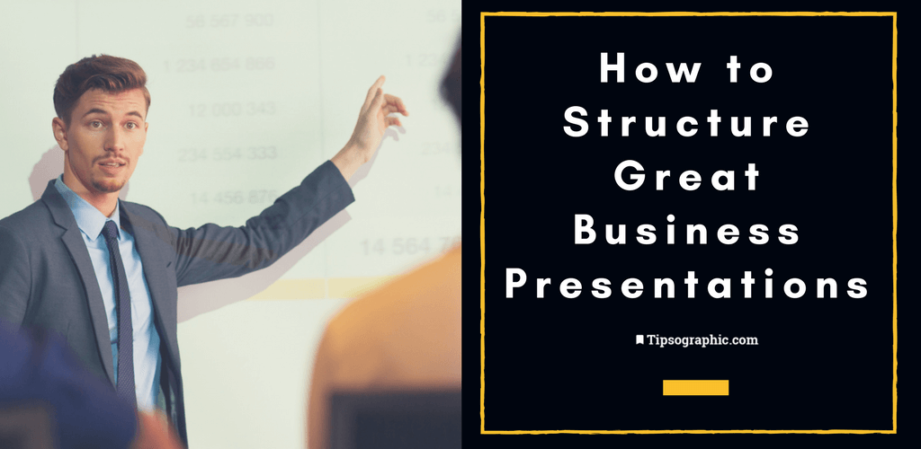 Thumbnail titled how to structure great business presentations