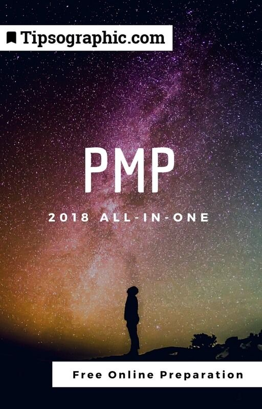 pmp 2018 all-in-one free online preparation tipsographic