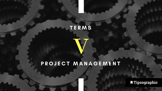 Image titled project management terms v