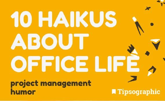 Thumbnail titled 10 haikus about office life