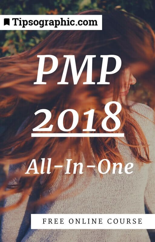 PMP 2018 All-In-One Free Online Course Tipsographic