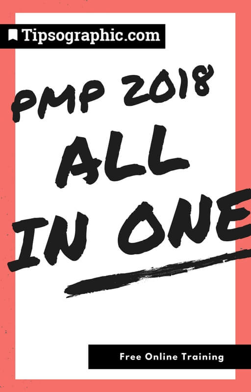 PMP 2018 All-In-One Free Online Training Tipsographic