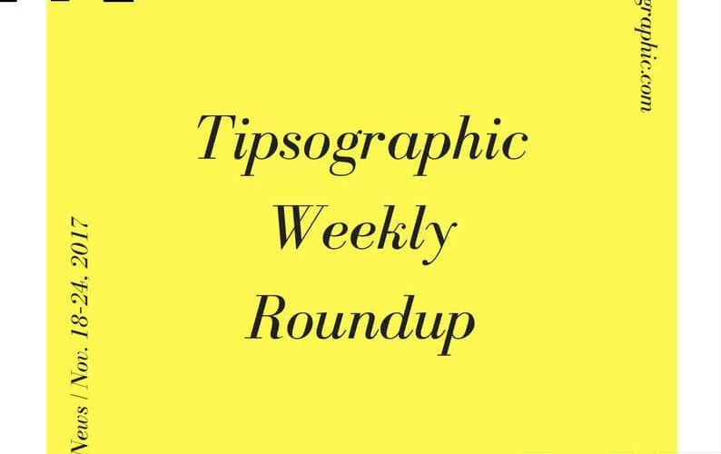 Thumbnail titled project management news tipsographic weekly roundup nov 18 24 2017