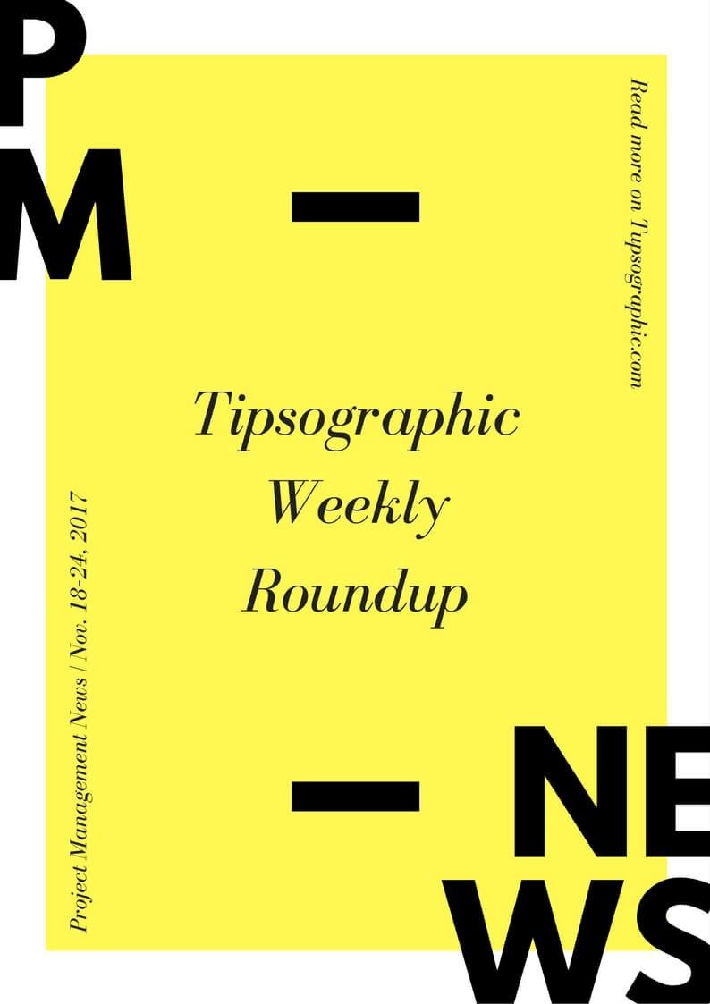 Image titled project management news tipsographic weekly roundup nov 18 24 2017